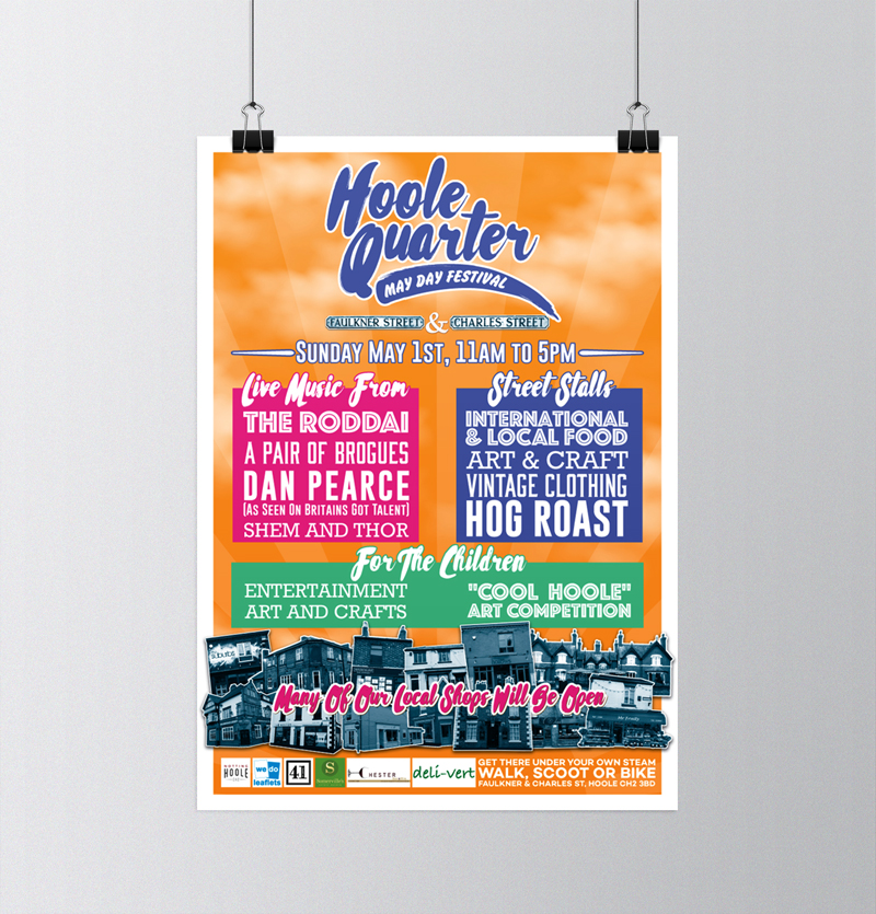 Notting Hoole Festival Poster