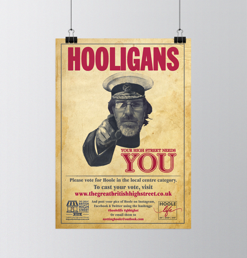Notting Hoole Hooligan Poster