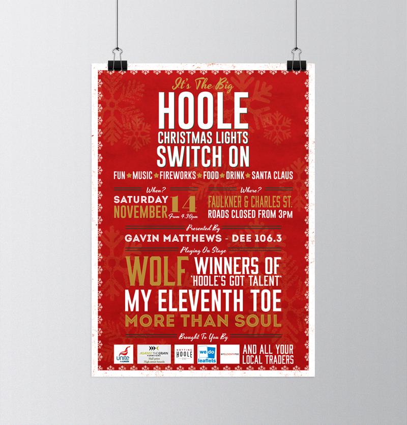 Notting Hoole Xmas Poster