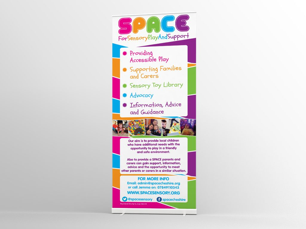 SPACE Roller Banner