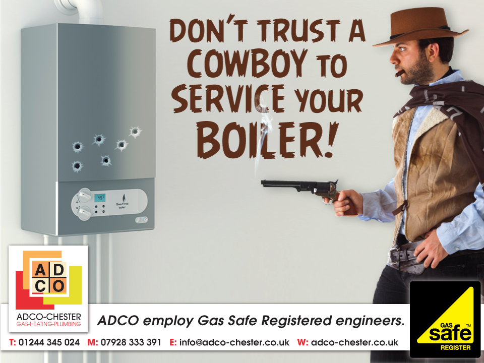 ADCO Gas Engineers Facebook Advert