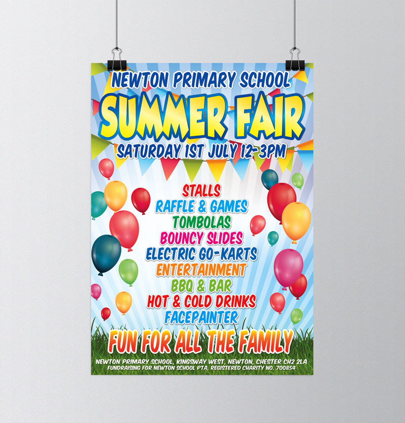 Newton Primary School Summer Fair 2017
