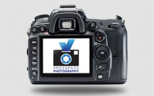 PressPass Photography Camera Logo